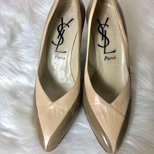 Vintage YSL Paris Shoes